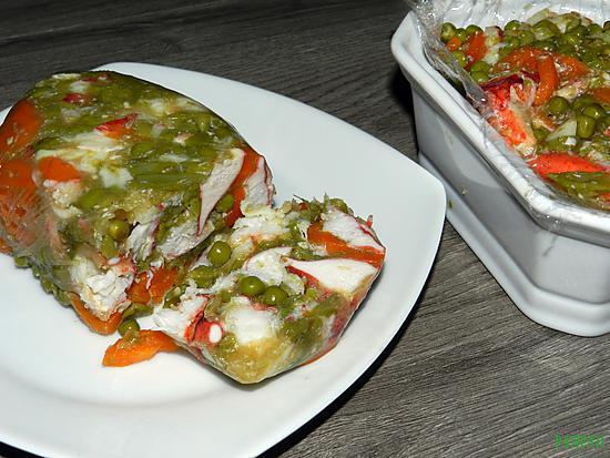 recette Terrine de homard et ses légumes