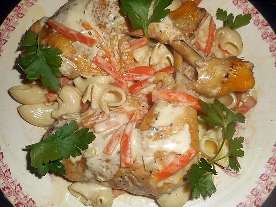 recette Cuisses de poulet au vinaigre de cidre