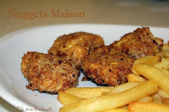 recette Nuggets maison