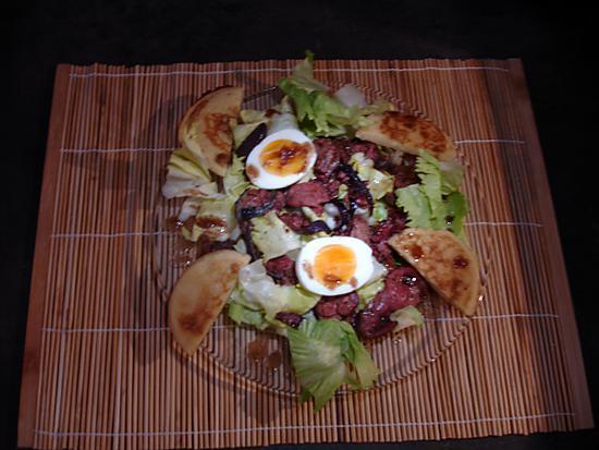 oignon rouge salade