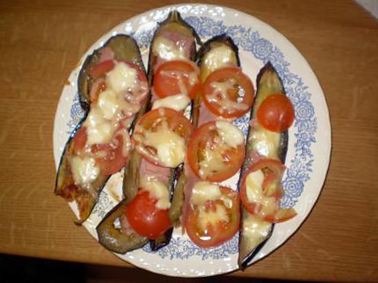Recette d 39 aubergines grill es par calinou - Recette aubergine grillee ...