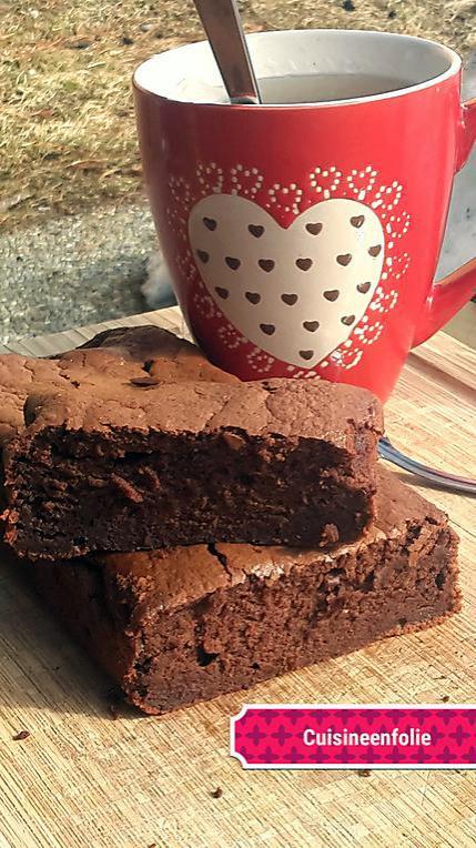 recette Fondant au chocolat sans beurre sans huile trop bluffant !