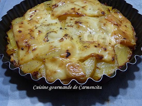 recette Gâteau de pommes de terre