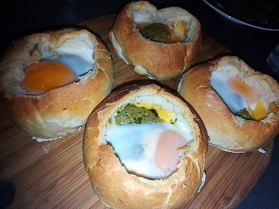 recette Petits pains a la coque