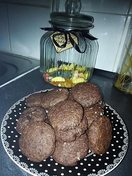 recette Sablés au cacao fourrés a la noix de coco