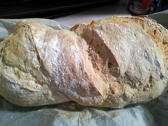 recette pain de 1kg