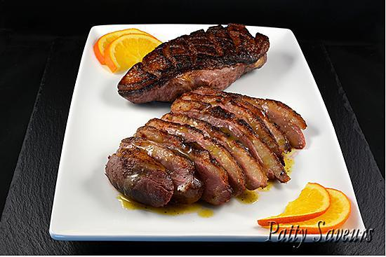recette Magrets de Canard, Sauce Orange Whisky
