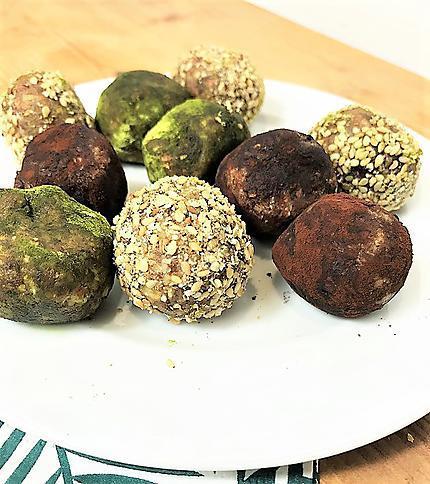 recette Energy balls : un snack sain, gourmand et rapide à préparer !