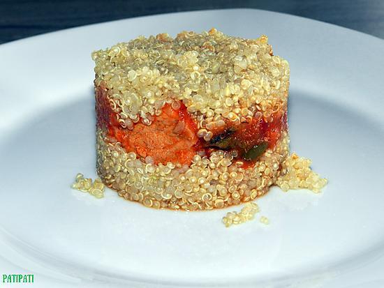 recette Perles de quinoa façon hamburger