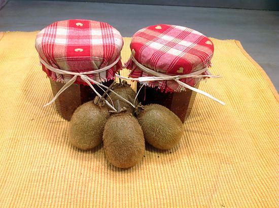 recette Confiture kiwis framboises