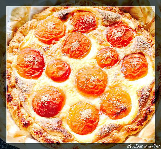Bien-aimée Recette de Tarte aux Abricots (pâte feuilleté) par LesDélicesDeNol #QQ_52
