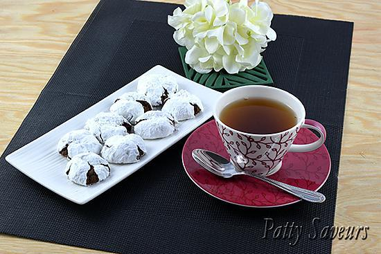 recette Cookies Crinkle Chocolat