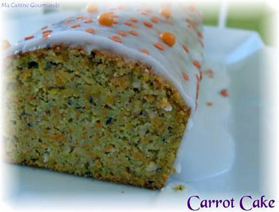 recette Carrot Cake Léger