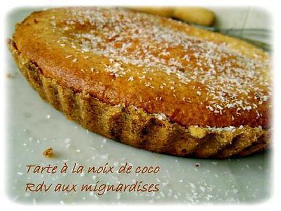 recette THE tarte à la noix de coco
