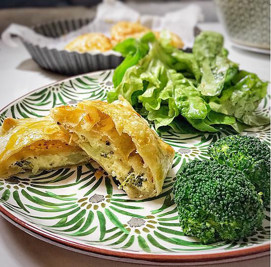 recette Recette rapide des feuilletés au brocoli