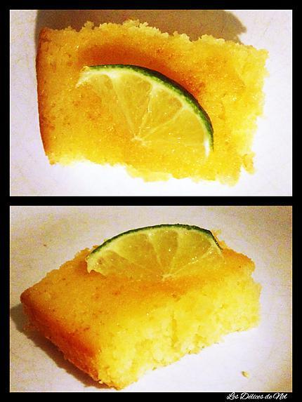 recette Moelleux au citron