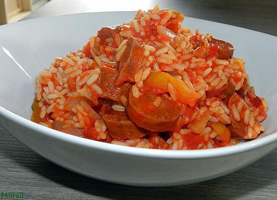 recette Riz à la catalane