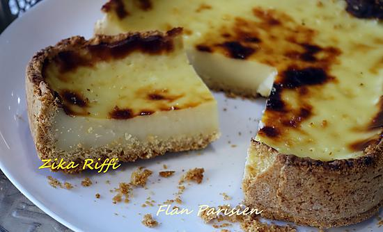 recette FLAN PARISIEN VANILLE ET ZESTE DE COMBAVA
