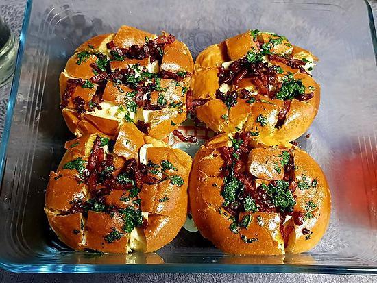recette Bun's fondant au camembert