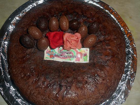 recette Gateau au chocolat d anniversaire