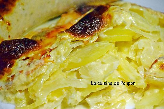 recette Gratin de pommes de terre et fenouil