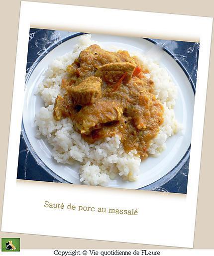 recette Sauté de porc au massale