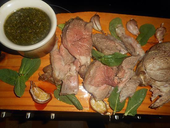 recette Gigot d agneau sauce à la menthe