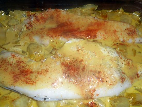 recette Filet d églefin sur une fondue d endives