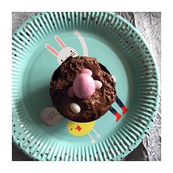recette Nids de pâques & mousse au chocolat