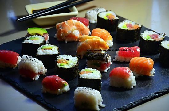 recette Sushis express au bac à glaçons