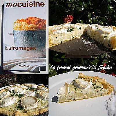 Petatou : tarte au chèvre et pommes de terre par Le journal gourmand ...
