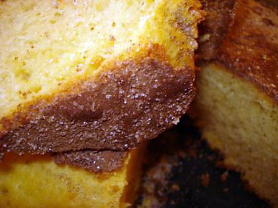 recette COCA DE LLANDA(CAKE ESPAGNOL A L'ORANGE TRES MOELLEUX)