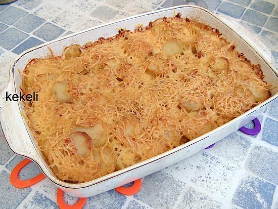recette Gratin de pomme de terre emmental
