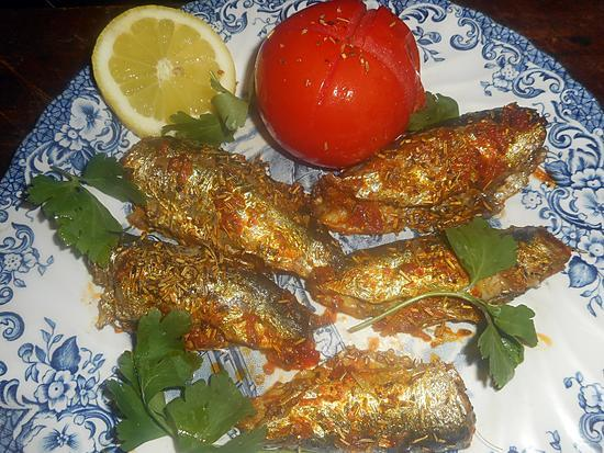recette Sardines a l algerienne au four