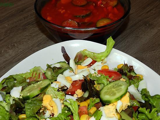 les meilleures recettes de salades accompagnement barbecue. Black Bedroom Furniture Sets. Home Design Ideas