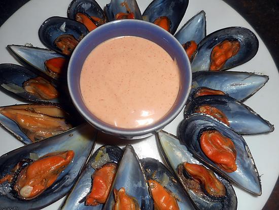 recette Moules de bouzigues sauce new orleans