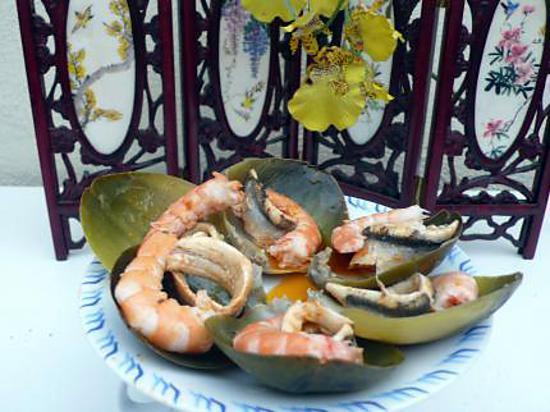 recette feuilles d'artichaut au gout de la mer