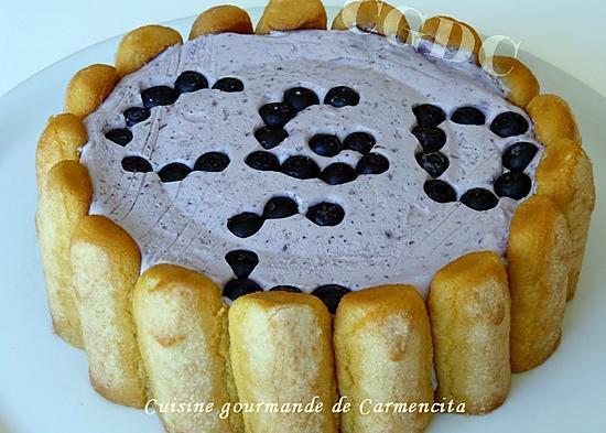 recette Charlotte aux myrtilles