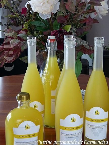recette Nouvelle cuvée Limoncello 2018