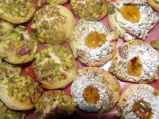 recette petits gateaux au yaourt  et pistaches