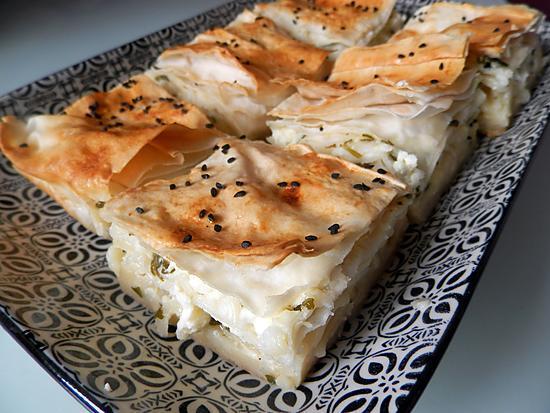 recette Makarna böreği - Börek à base de pâtes