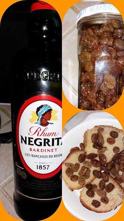recette Raisins secs au rhum maison