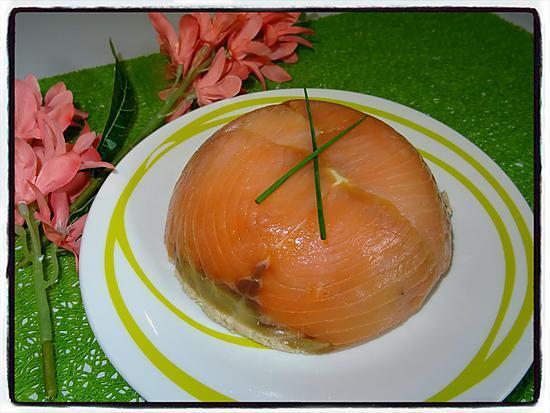 recette Dôme au thon et au saumon