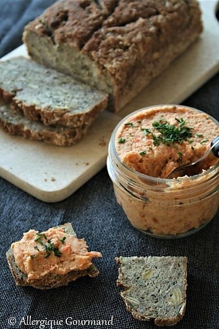 recette Tartinade de carottes grillées