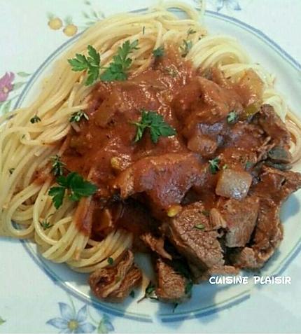 recette Agneau aux tomates