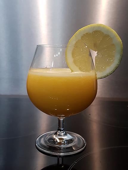 recette Smoothie ananas-mangue-citron