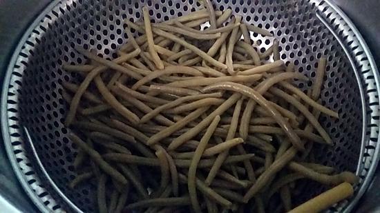recette Haricots verts du jardin vapeur