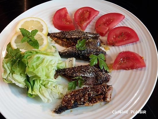 recette Sardines farcies, à l'algérienne, cuites au four