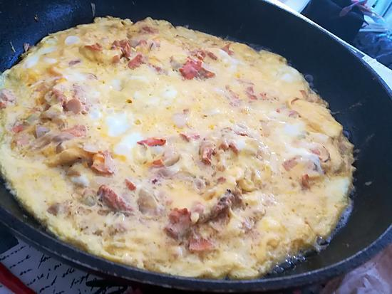 recette Omelette aux girolles