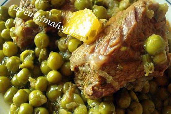 recette THE tagine exquissime de pois et de fond d'artichaut....